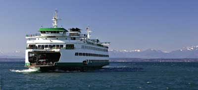 San Juan Island Ferry Friday Harbor Washington